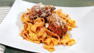 Tagliatelle with Sunday Sauce