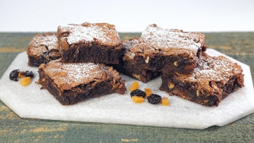 Fruit & Nut Brownies