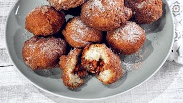 Fried Cinnamon Apple Biscuits