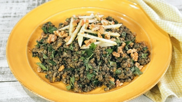 Lentil and Butternut Squash Salad