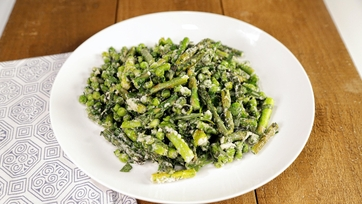 Asparagus and Pea Saute