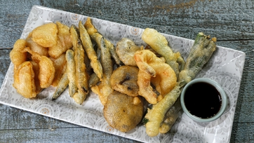 Shrimp and Veggie Tempura