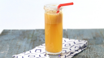 Peach Sweet Tea Mocktail