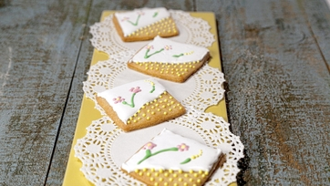 Embroidery Cookies