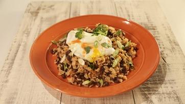 Breakfast Beans & Rice