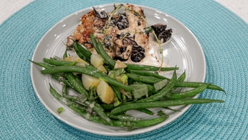 Provençal Chicken with Olives, Green Beans & Potatoes