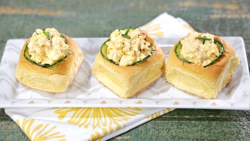 Deviled Egg Salad Sandwiches