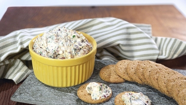 Olive Cracker Spread
