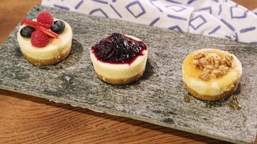 Foolproof Mini Cheesecakes
