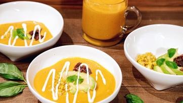 Picture Perfect Tomato Soup