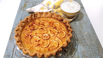 Lemon Shaker Pie with Black Pepper Crust