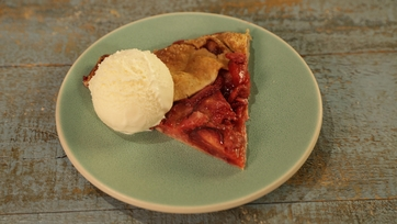 Strawberry Plum Crostata