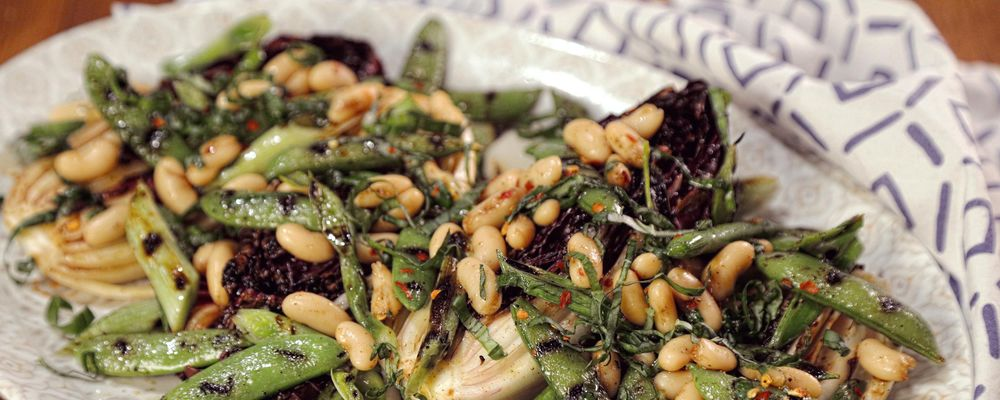 Grilled Spring Radicchio Salad Recipe by Mario Batali ...