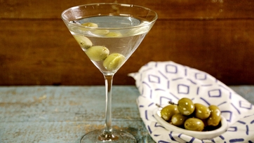 Dad\'s Dirty Martini