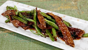 Beef and Green Bean Stir-Fry