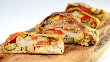 Cheesy Zucchini Stromboli