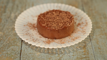 Mexican Chocolate Blender Flan