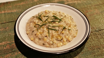 Sweet Corn and Tarragon Risotto