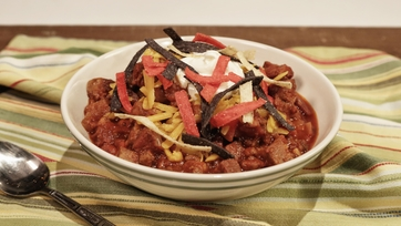 Mike\'s Mighty Meat Chili