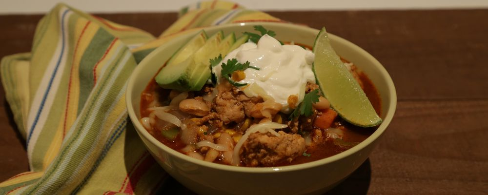 Tricia's Terrific Turkey Chili Recipe by Tricia Cooney - The Chew