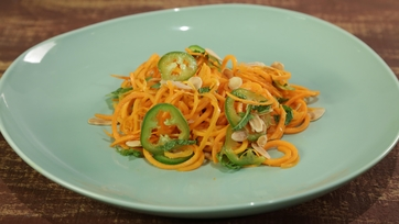 Carrot Mint Salad
