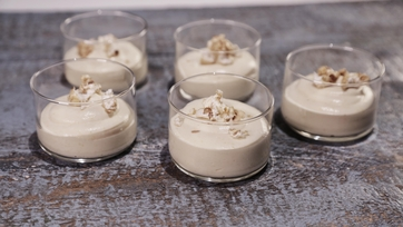 White Chocolate Corn Mousse