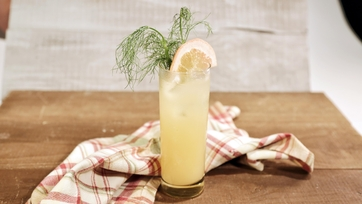 Fennel Grapefruit Delight