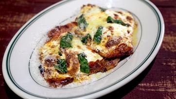 Grilled Veal Parmesan