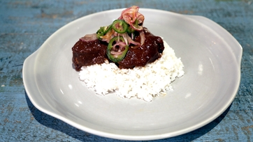 Braised Chicken Mole