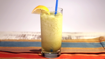 Lemongrass and Ginger Tea Slushie