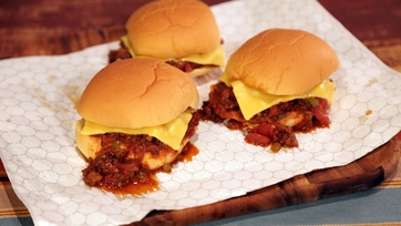 Bacon and Brown Sugar Sloppy Joes