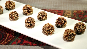 Maple Pecan Bourbon Balls