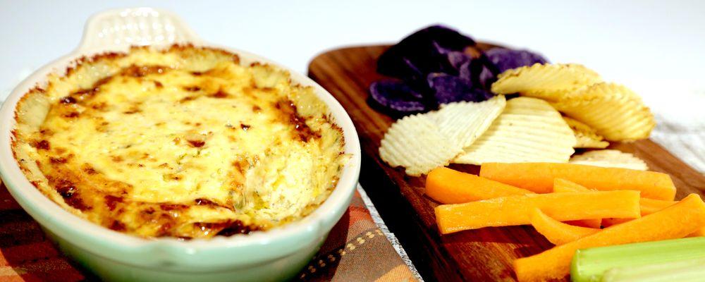 Spicy Warm Blue Cheese Dip Recipe | The Chew - ABC.com
