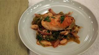 ... Chicken Cutlets with Braised Escarole Recipe | The Chew - ABC.com