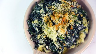 Creamed Kale Au Gratin