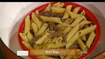 Leftover Pot Roast Ragu