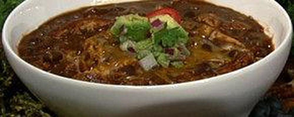Kerri Glassman\'s Black Bean Soup