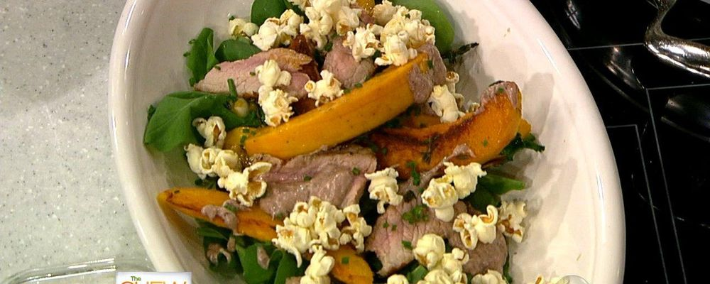 Super Chef\'s Alex Guarnaschelli and Geoffrey Zakarian\'s Pork Chops With Pumpkin