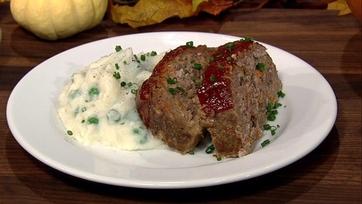 Garlicky Meatloaf