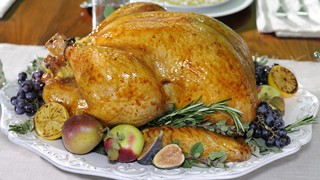 Juicy Turkey Cooked in Cheese Cloth