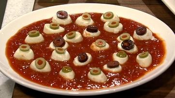 Mozzarella Eyeballs