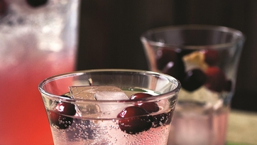 Carla Hall\'s Cranberry Soda