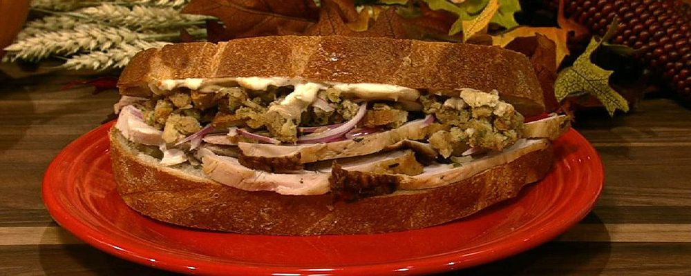 Michael Symon\'s Leftover Turkey Sandwich