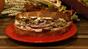Michael Symon\'s Leftover Turkey Sandwich