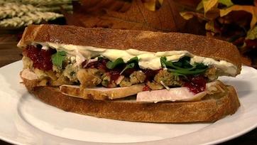 Carla Hall\'s Leftover Turkey Sandwich