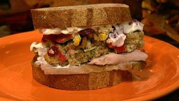 Daphne Oz\'s Leftover Turkey Sandwich