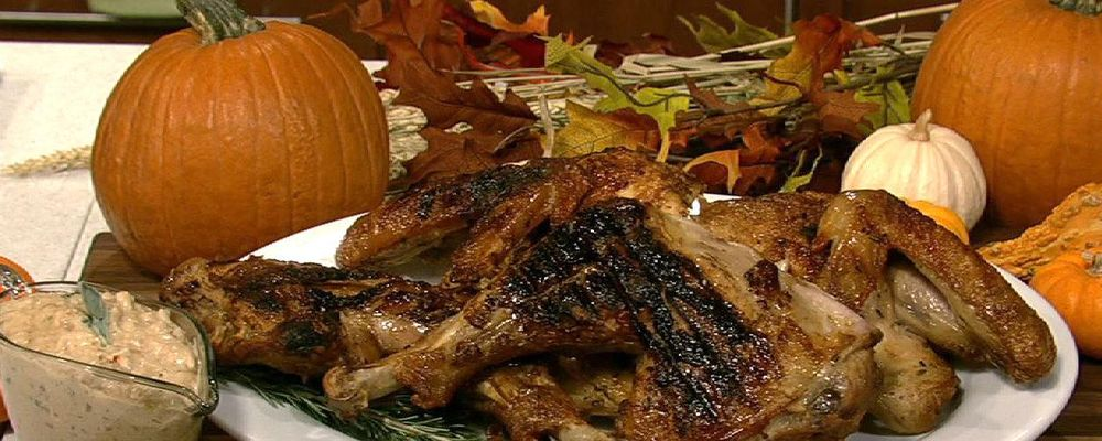 Michael Symon\'s Grilled Turkey