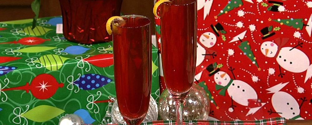 Clinton Kelly\'s Cranberry Kir Royale