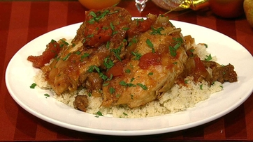 Chicken and Sausage with Couscous