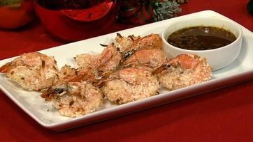 Bobby Deen\'s Baked Coconut Shrimp